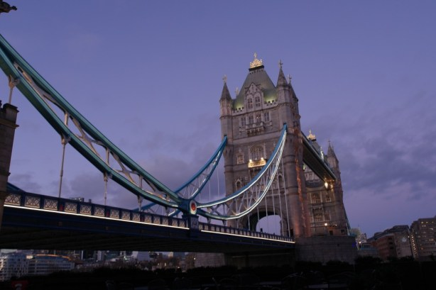 Tower Bridge - A closer view