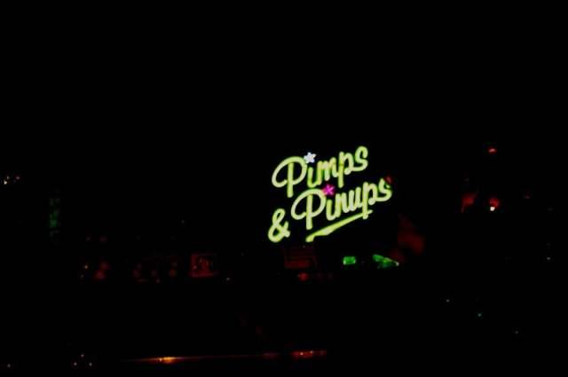 Pimps & Pinups sign