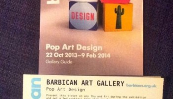 Pop Art Design exhibition - The Barbican Centre