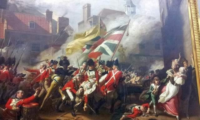The Death of Major Peirson (1783) - John Singleton Copley