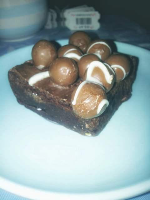 Malteser Brownie - Bad Brownie