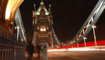 Tower Bridge, London, Long Exposure