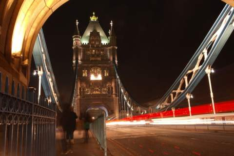 Tower Bridge, London, Long Exposure (2)