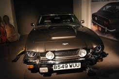 Aston Martin V8 and Cello Case Sled - The Living Daylights