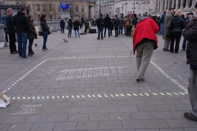 National Gallery street artist