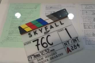 Skyfall film clapper
