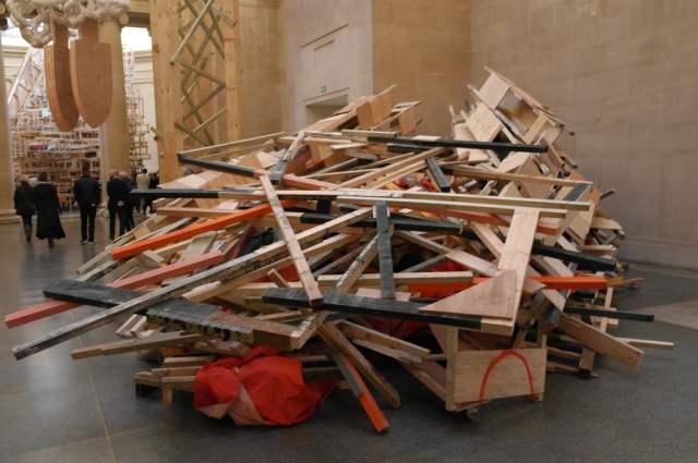 dock, Phyllida Barlow, Tate Britain