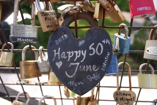 Love lock - Pont Neuf