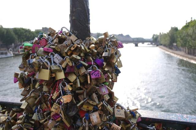 Love locks - Pont des Arts (2)