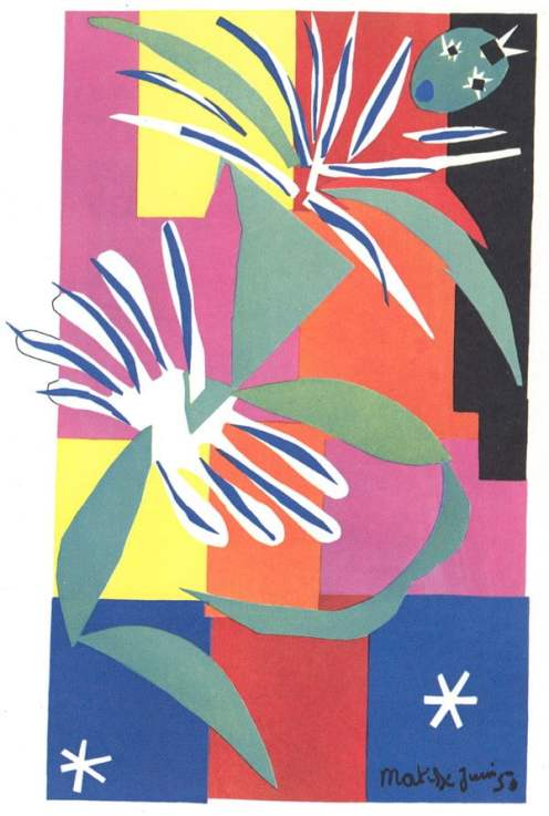 Creole Dancer – Henri Matisse, The Cut-Outs, Tate Modern