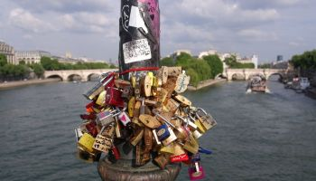 Love locks, Pont des Arts
