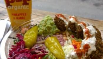 Pilpel falafel and hummus in London