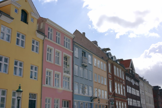 Colourful buildings, Nyhavn