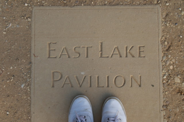 East Lake Pavilion sign