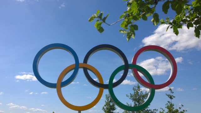 Olympic rings London
