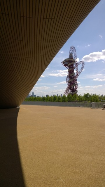ArcelorMittal Orbit from distance