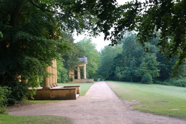 Pavilions path Stowe Gardens