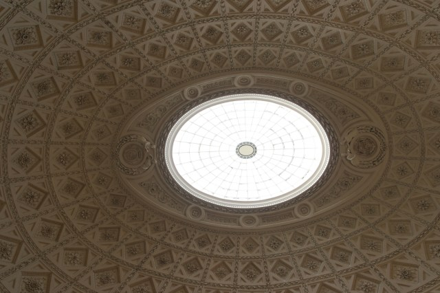 Stowe House The Saloon sky light