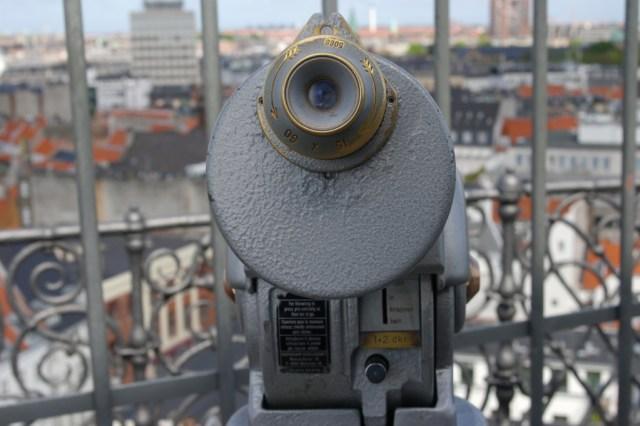 Viewfinder at Round Tower, Copenhagen