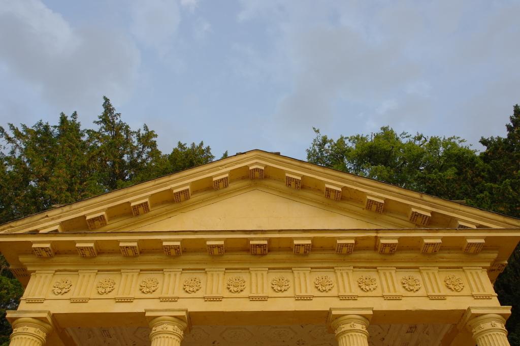 Yellow pavilon Stowe Gardens
