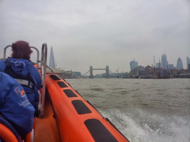 Speed boat Thames London
