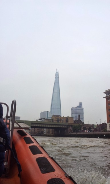Speed boat Thames River London