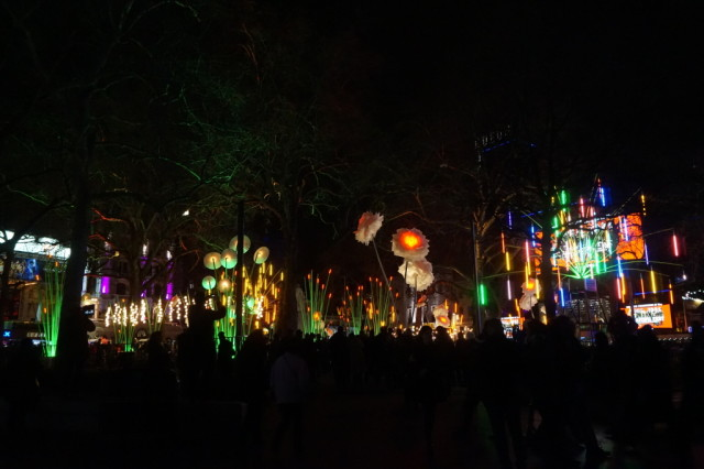 Garden of Light, TINT, Lumiere London 2016