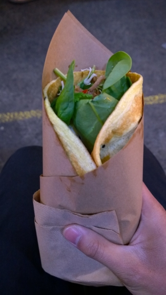 Egg Crepe Copenhagen Street Food Festival review