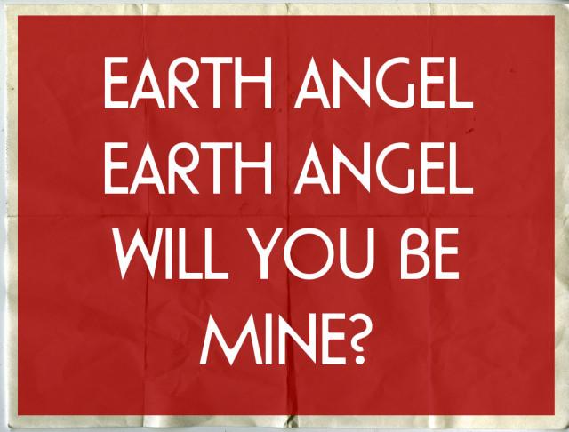 Earth angel lyrics