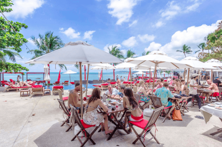 Sunday Brunch in Koh Samui at Sunday Sessions - Beach Republic