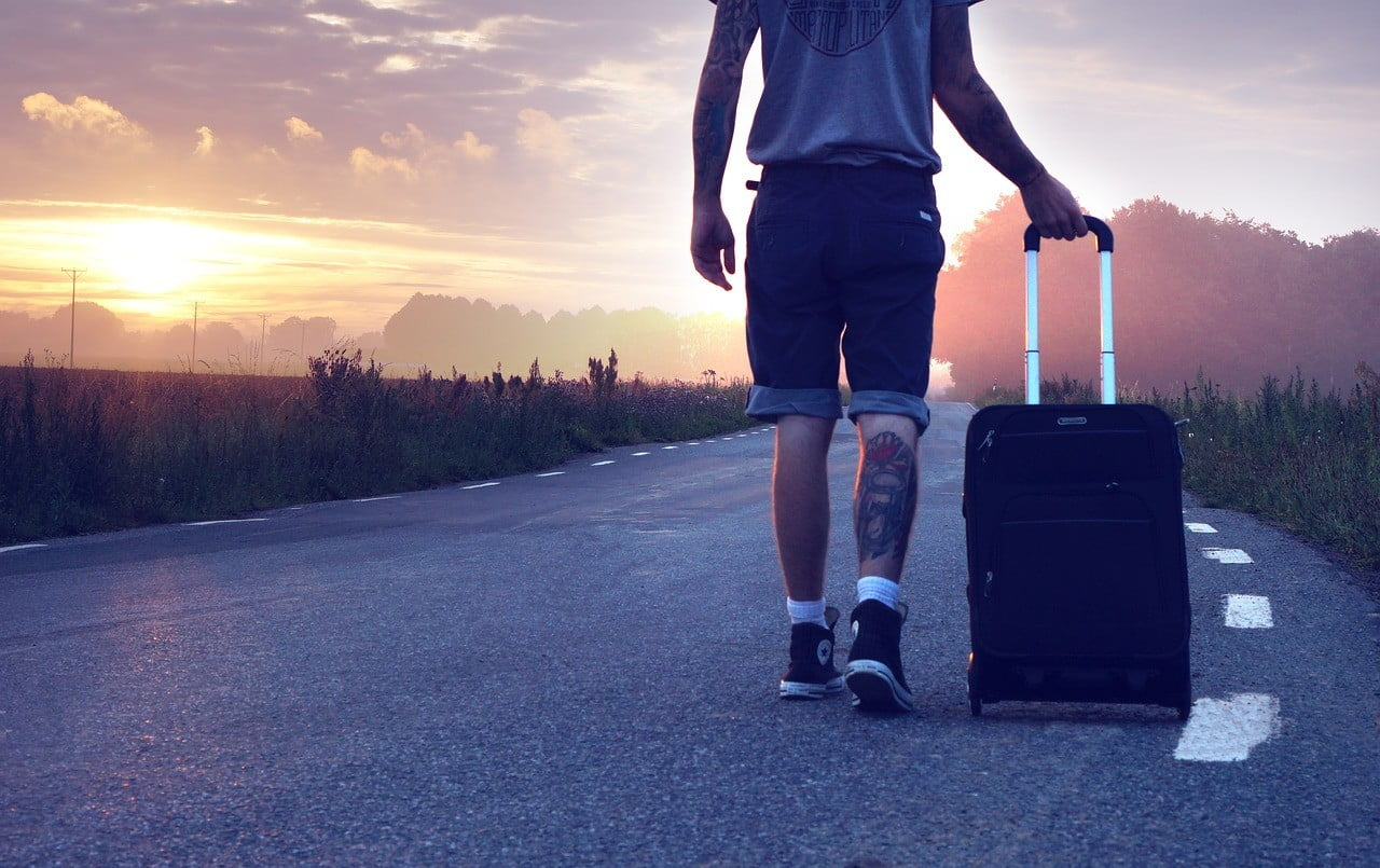 travel suitcase photo
