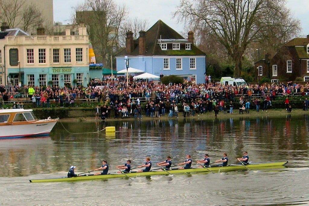 Boatrace Londres foto