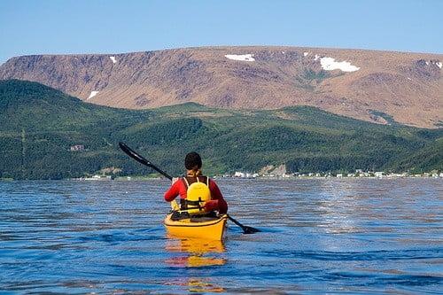 Newfoundland kayak photo