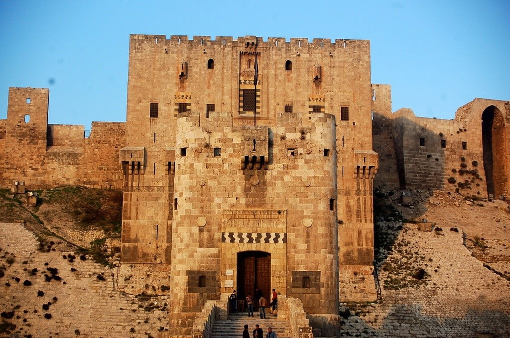 Citadel of Aleppo photo