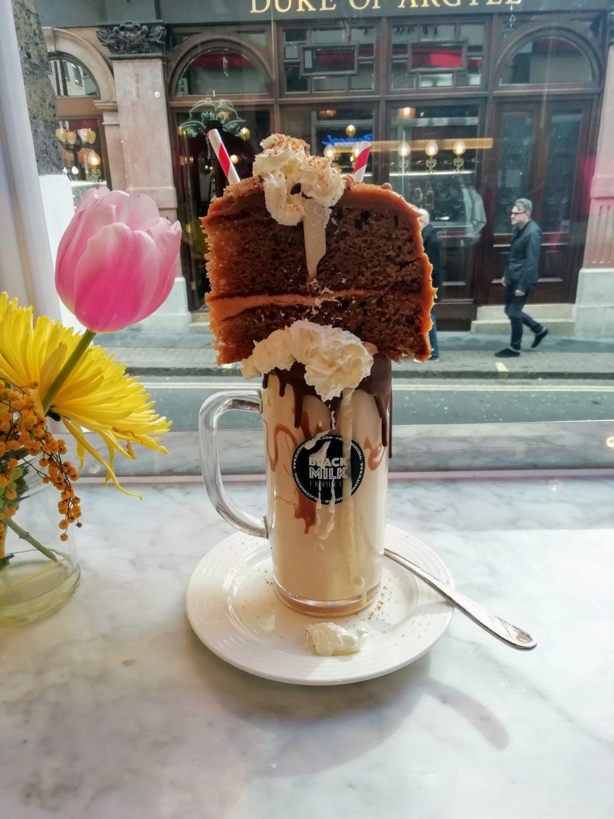 Best milkshakes in London, Black and Milk