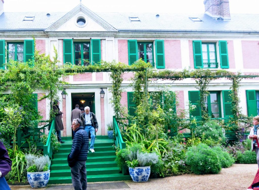 Photo of his house in Giverny