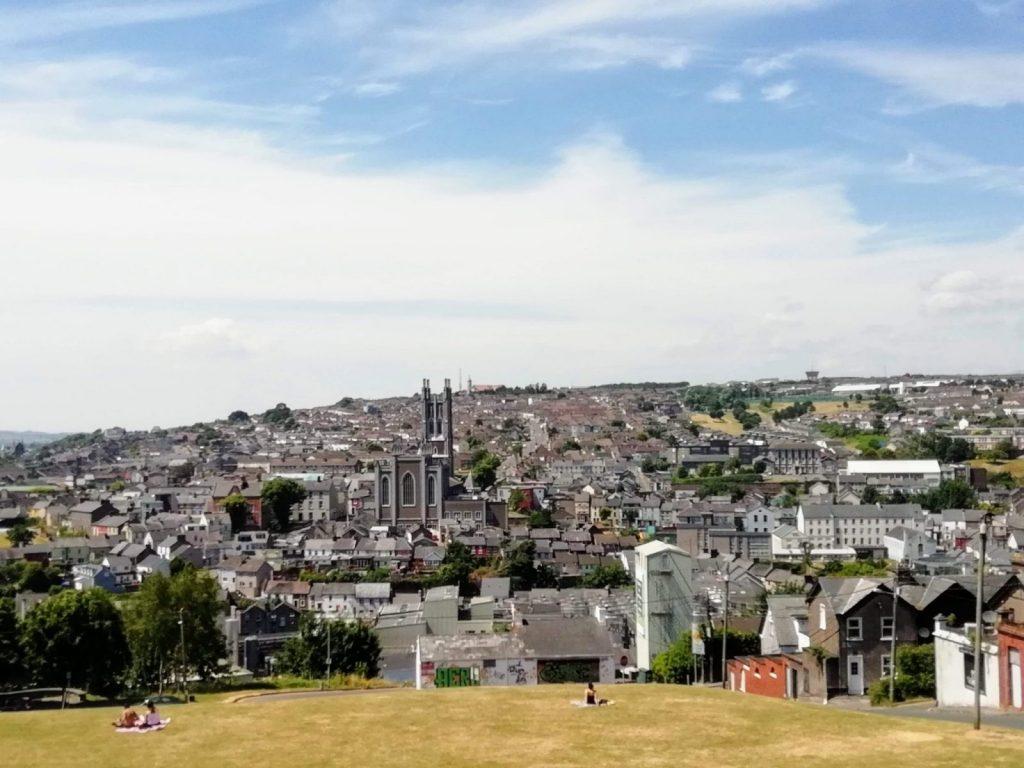 view of Cork city