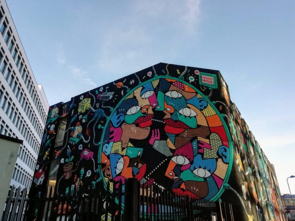 New Street Art in London: Alternative London Walking Tour Review 31