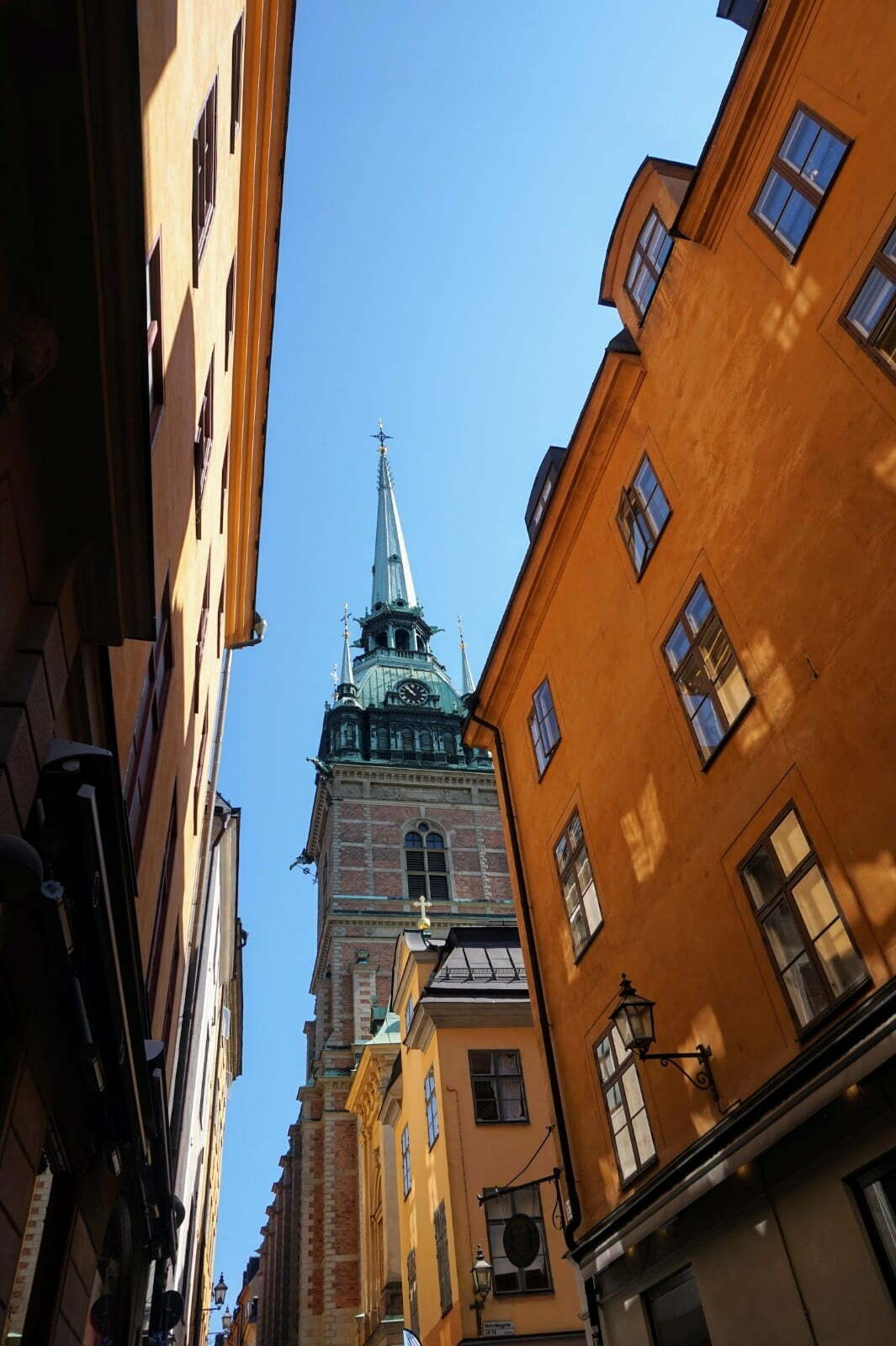 Colourful Houses & Narrow Streets of Gamla Stan, Stockholm 8