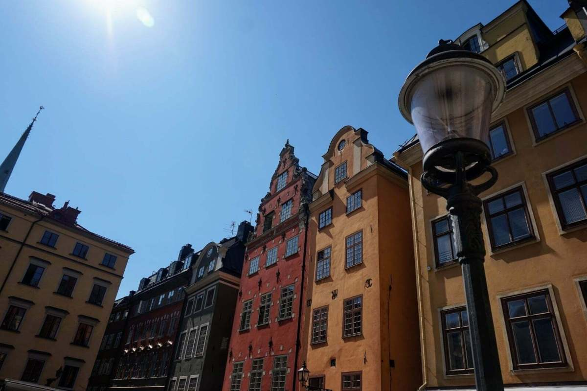 Colourful Houses & Narrow Streets of Gamla Stan, Stockholm 1