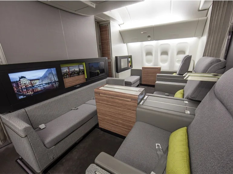 Tam Airlines New Quot Living Rooms In The Sky Quot Elite