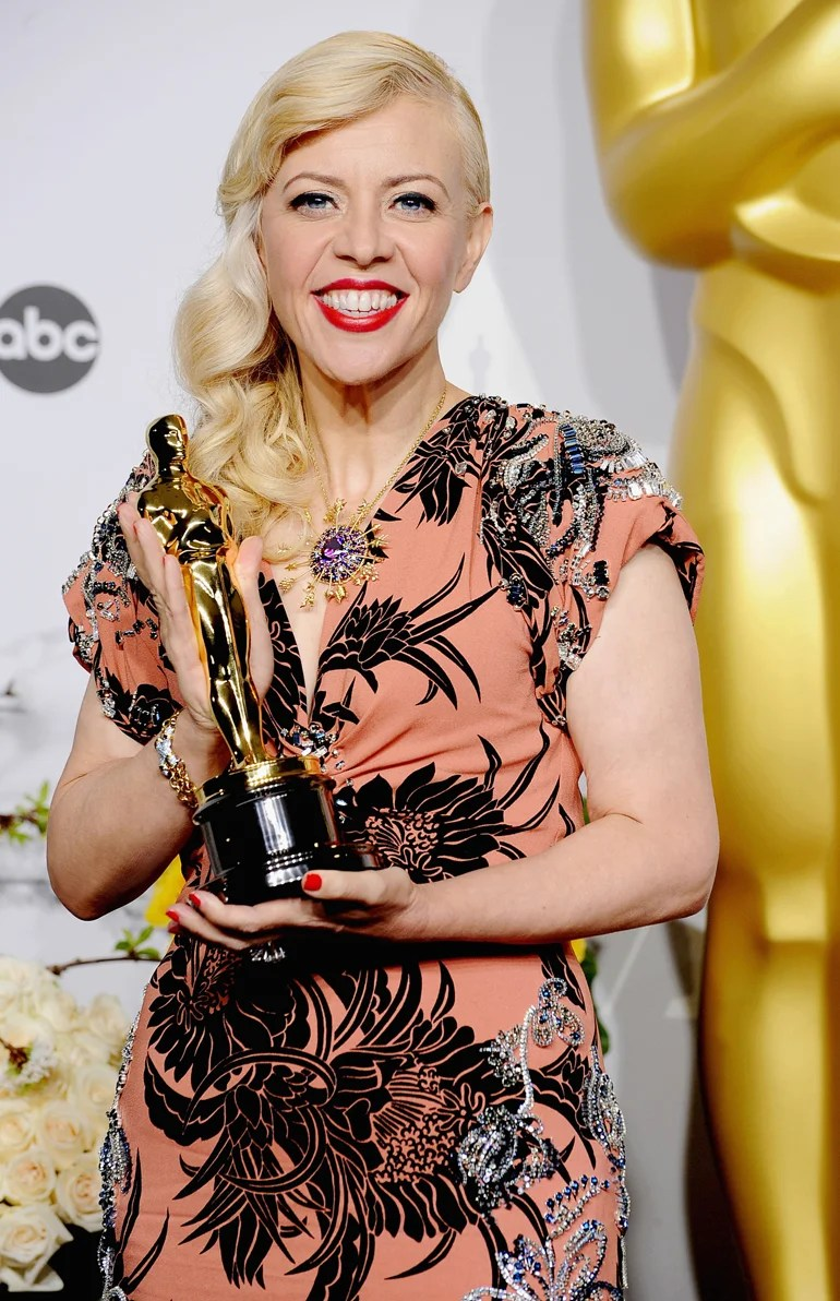 Stars Sparkle At Oscars In Tiffany Blue Book Jewels