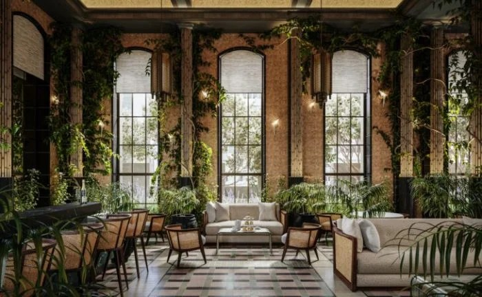Winter Garden Lounge at The Towers