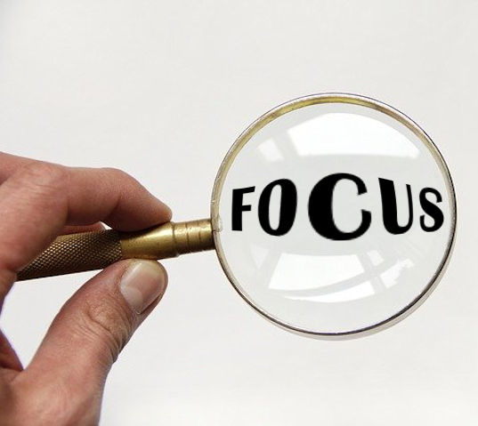 Choose Your Focus and Stick to It