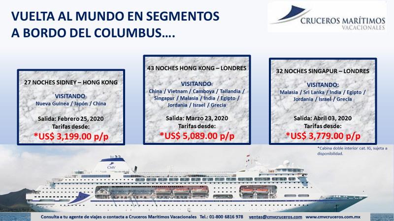 Columbus vuelta al mundo