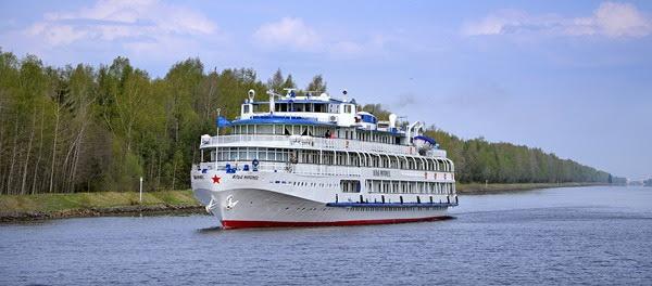 Cruceros por rios de Rusia