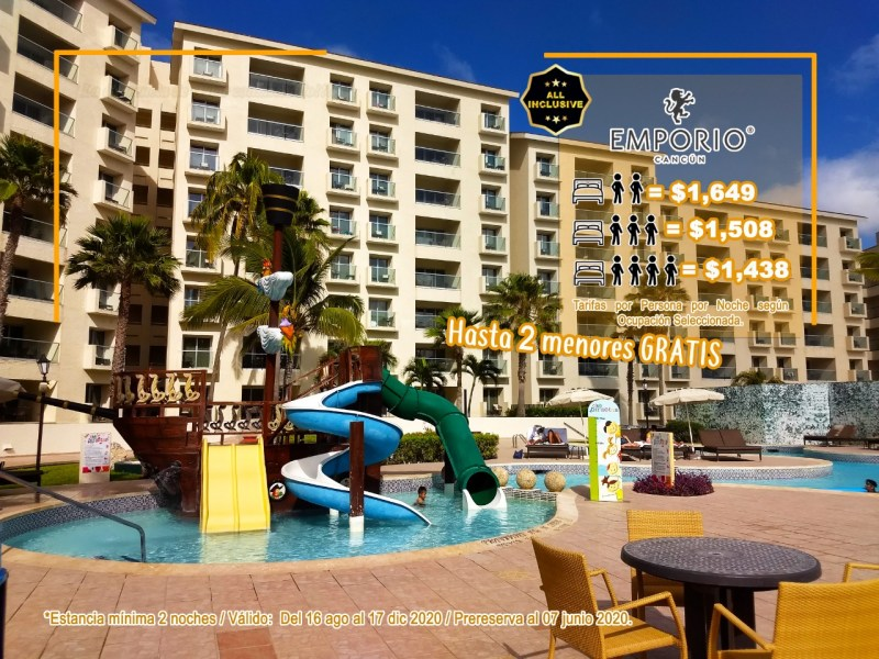 Hotel Emporio Cancún