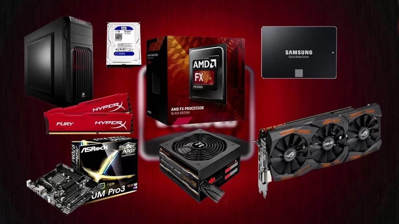 Configurazioni Gaming AMD 500€ – 700€ – 1300€ | AGOSTO 2016
