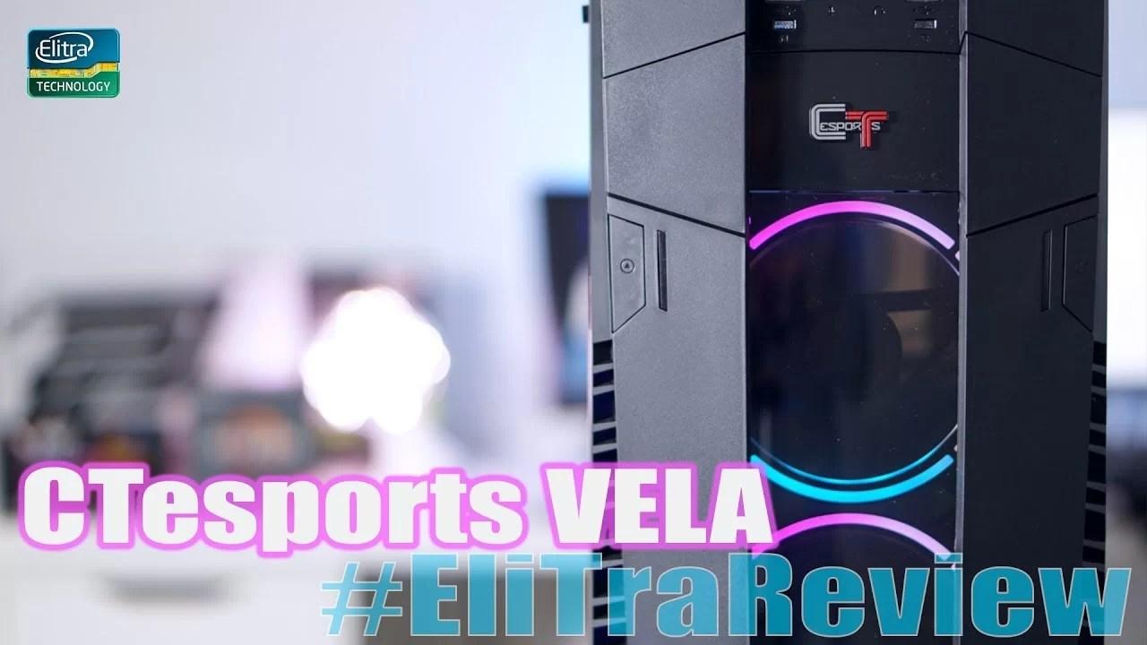 CTesports Vela | Recensione case da gaming