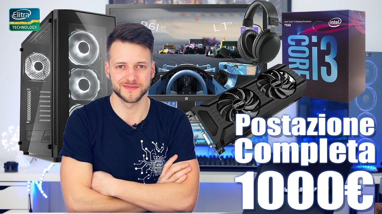 Postazione PC da GAMING COMPLETA 1000€